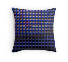 Blue Screen Throw Pillow