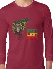 Reggae Rasta Iron, Lion, Zion 3 Long Sleeve T-Shirt