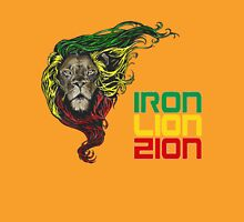 Reggae Rasta Iron, Lion, Zion 3 Unisex T-Shirt
