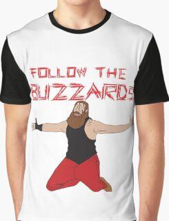 WWE Bray Wyatt Follow The Buzzards  Graphic T-Shirt