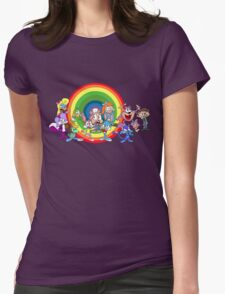 Tiny Toons Womens Fitted T-Shirt