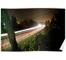Freeway Streaks Poster