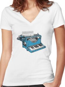 The Composition - O. Women's Fitted V-Neck T-Shirt
