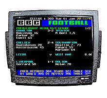 Ceefax Score Days (Football) by JoelCortez