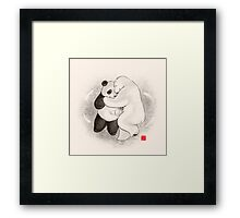True love conquers all Framed Print