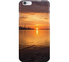 Toronto's Skyline at Sunrise iPhone Case/Skin