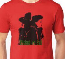 Wicked vs Evil Unisex T-Shirt