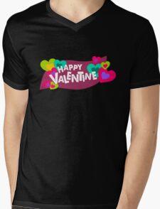 Happy Valentine! Mens V-Neck T-Shirt