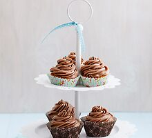 Chocolate cupcakes by Elisabeth Coelfen