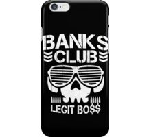 Banks Club iPhone Case/Skin