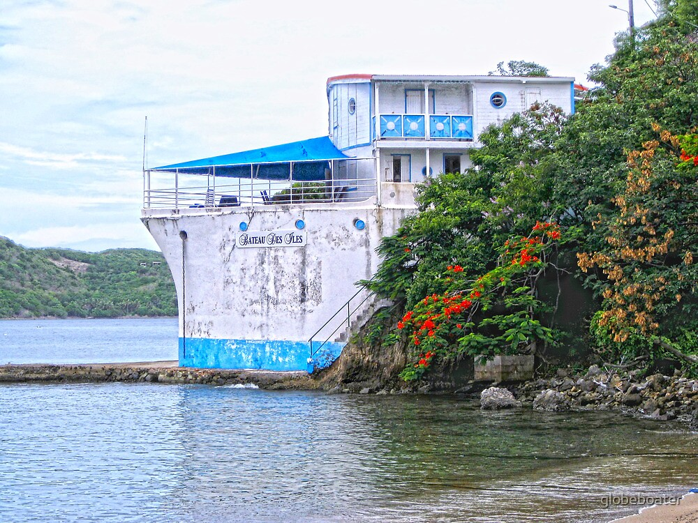 House at Anchor by globeboater