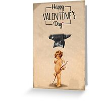 Happy Valentine's day - Die Cupid Greeting Card