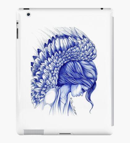My Guardian Angel Ball Pen Ink Artwork iPad Case/Skin