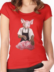 Cannibalpigsm Women's Fitted Scoop T-Shirt