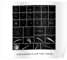 StarGazing is like time travel Poster