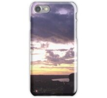 Sunset Over Ohio River Valley iPhone Case/Skin