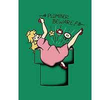 Plumber Beware Photographic Print