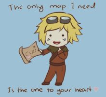The only map I need is the one to your heart! - League Of Legends by RpFreeMaker