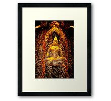 Seated Buddha 2 Framed Print