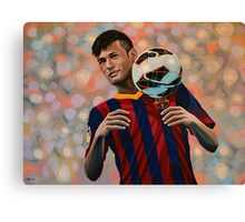 Neymar painting Canvas Print