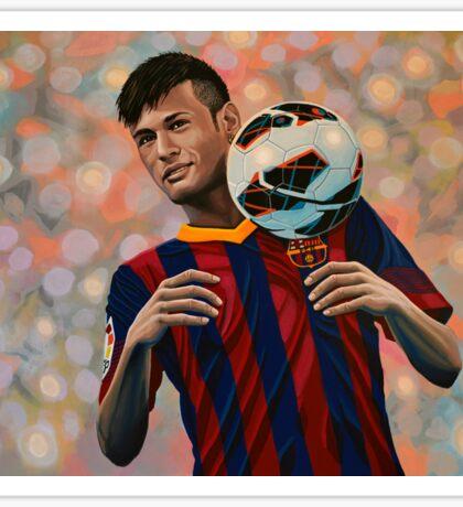 Neymar painting Sticker