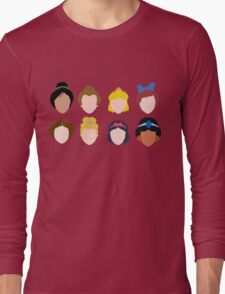 ALL of the Princesses Long Sleeve T-Shirt