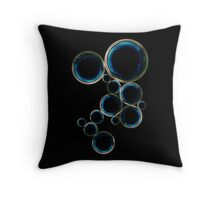 ILOBAHIE Square circle poster Throw Pillow