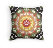Abstract Alphabet Design 1 Throw Pillow
