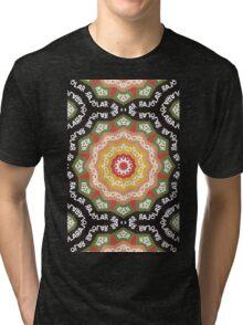 Abstract Alphabet Design 1 Tri-blend T-Shirt