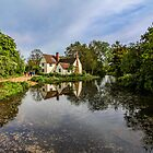 Cottage on a Stream (Constable Country) by pixog