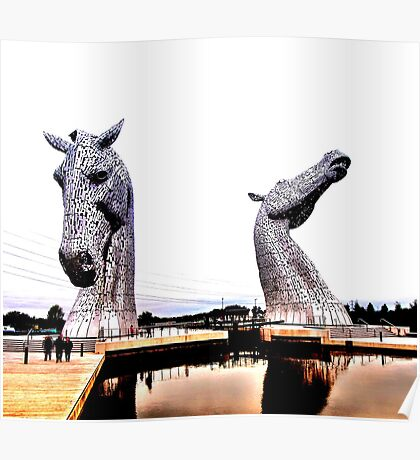 The Kelpies Poster