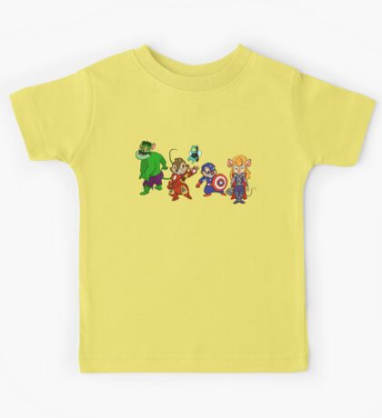 Rescuers Assemble!  Kids Tee