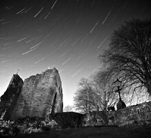 Star Trails - Knaresborough Castle by eatsleepdesign