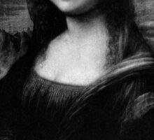 Mona Lisa - Trust no bitch Sticker