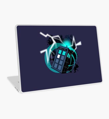 TIME MACHINE  Laptop Skin