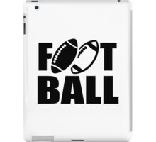 Football sports iPad Case/Skin