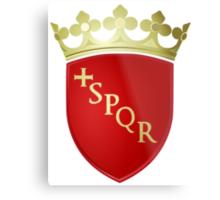 Coat of Arms of Rome Metal Print