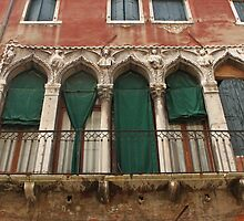 Venetian Windows 2 by Elena Skvortsova