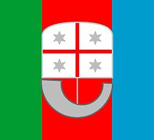 Flag of Liguria Region of Italy  by abbeyz71
