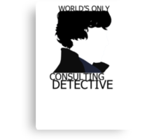 World's Only Consulting Detective (outside edition) Canvas Print