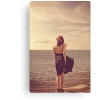 In the sea we'd be forgiven Canvas Print