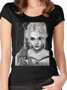 Ciri - The Witcher Women's Fitted Scoop T-Shirt