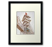 Olympic Torch Framed Print