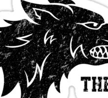 Team Robb Stark (Black) Sticker