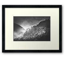 Mystic Alps I Framed Print