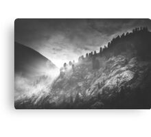 Mystic Alps I Canvas Print