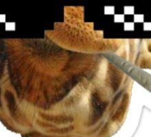 Disapproval Giraffa Is Thug Sticker