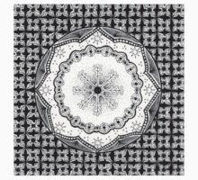Zendala - Zentangle®-Inspired Art - ZIA 23 Baby Tee
