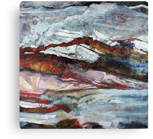 Rock and Stone No1 Canvas Print