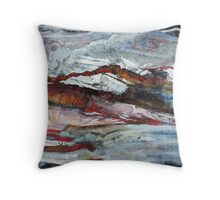 Rock and Stone No1 Throw Pillow